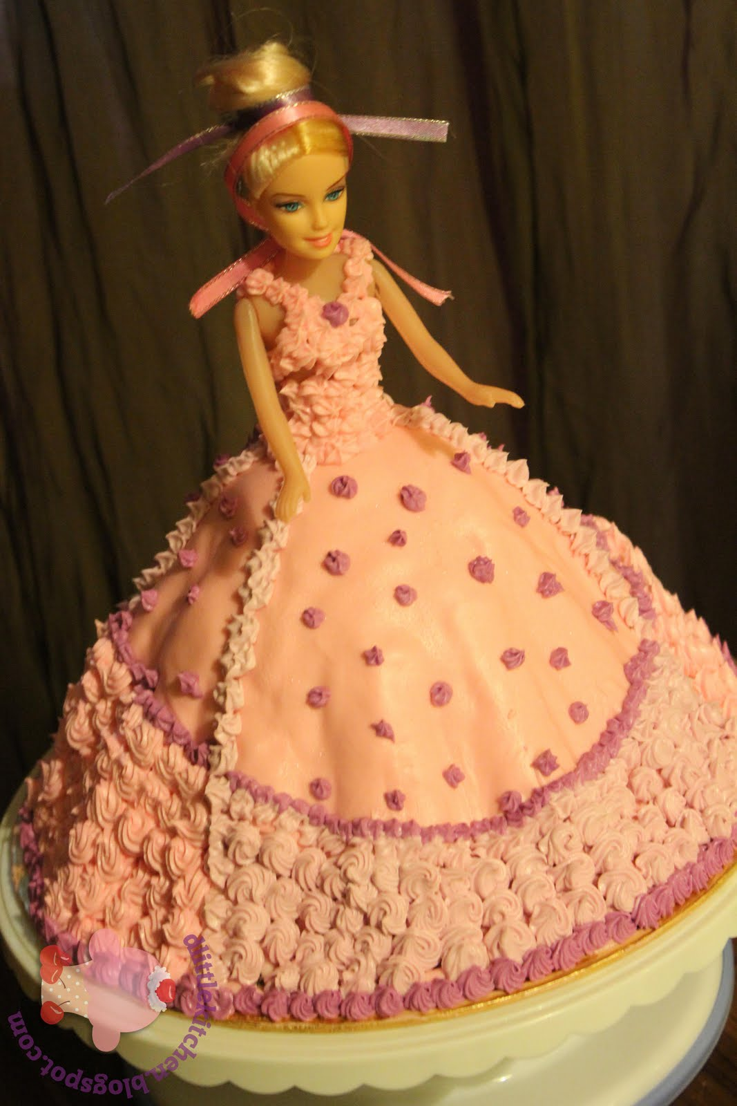 Happy Birthday Cake Barbie Doll 2 Tier Doll Cake – Happy
